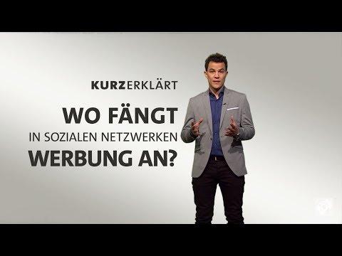 Wo beginnt Werbung in Social Media?