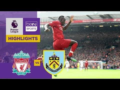 Liverpool 4-2 Burnley Match Highlights