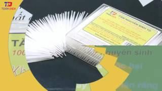 Tăm nguyên sinh TD - Một sản phẩm mới ưu Việt cho thị trường Việt Nam