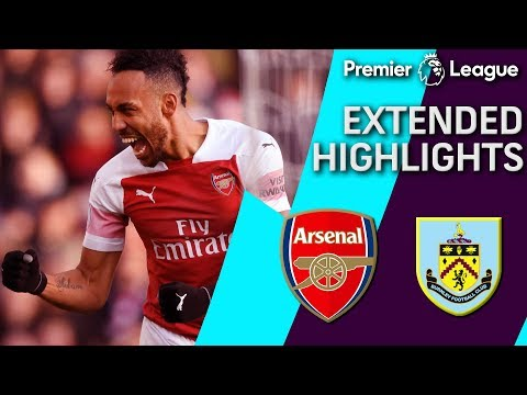 Arsenal V. Burnley | PREMIER LEAGUE EXTENDED HIGHLIGHTS | 12/22/18 | NBC Sports