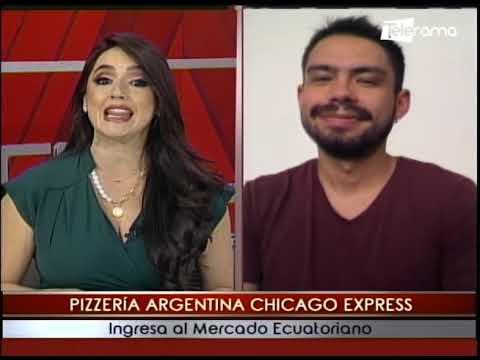 Pizzería Argentina Chicago Express ingresa al Mercado Ecuatoriano