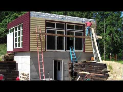 Solar Powered Home: Painting The House