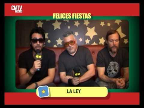La Ley video Saludos  - Fiestas 2014/2015