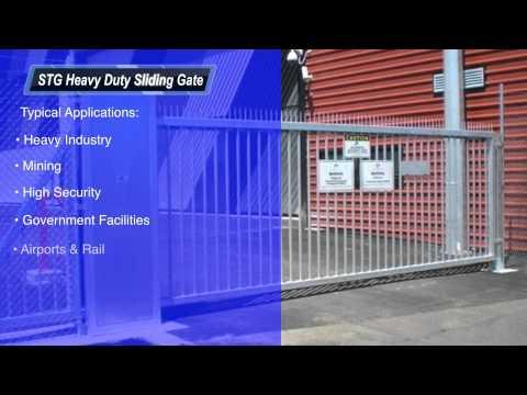 STG Heavy Duty Cantilever Gate