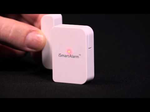 iSmartAlarm Contact Sensor | Crutchfield video