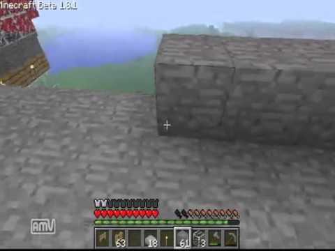 【Minecraft】マインクラフトで実在する鉄道っぽいものを作ろうとした4