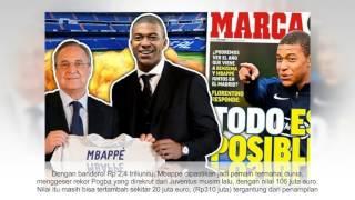 Mbappe dipastikan jadi pemain termahal dunia. Real Madrid dikabarkan mencapai kata sepakat dengan AS Monaco terkait...