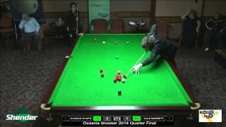 Oceania Snooker 2014 Quarter Final