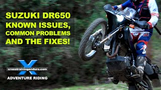6. FFRC DR650 SERIES 3: known issues, common problems & fixes