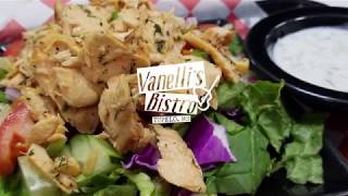 Salmon Salad at Vanellis Bistro