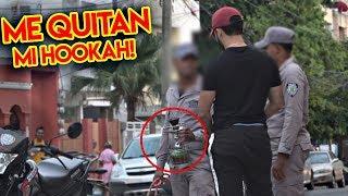 ¡Preparo Hookah Frente A Policias Y Pasa Esto! | Reto O Retazo #6