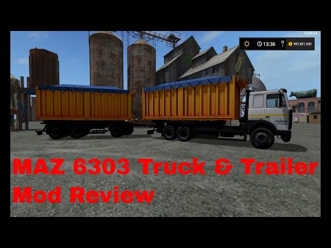 MAZ 6303 + Trailer v1.0