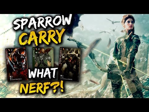 Paragon Sparrow Gameplay - WHAT NERF?!