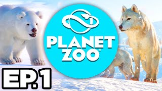 Planet Zoo: Arctic Pack Ep.1 - • • NEW REINDEER & DALL SHEEP ARCTIC ANIMALS! (Gameplay / Let's Play)