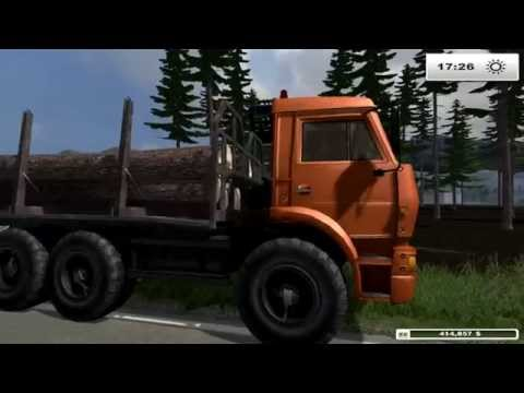 KAMAZ 6522 timber v1.0