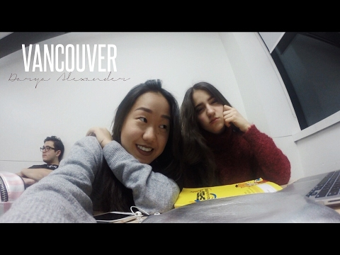 ВЛОГ / Как проходит учеба в Канаде? / Мой колледж, гуляем в Downtown (видео)