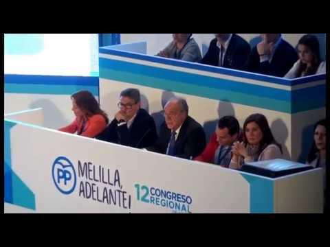 Intervención de los ponentes en el XII Congreso Regional del PP de Melilla