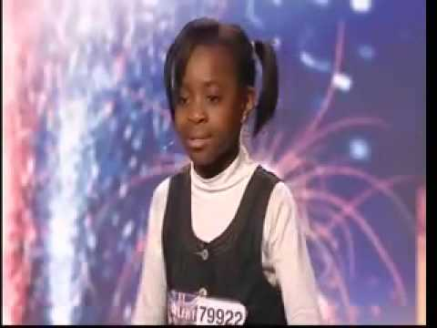 Natalie Okri -10 Year Old Singer – Britains Got Talent 2009 – Ep 6 Sings Alica Keys NO ONE