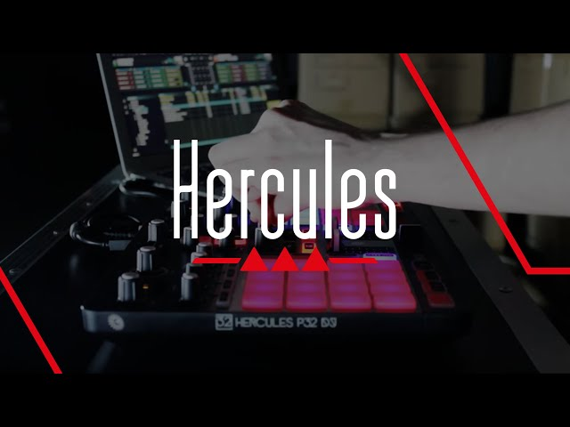 Hercules P32 DJ   Factory Performance with DJUCED 40