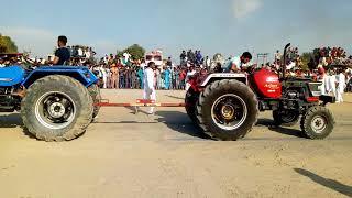 Sonalika RX & mahindra arjun 605 Tractor Tochan competition kamana