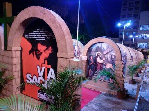 Exposição da Via Sacra, encenação da Paixão de Cristo e eventos evangélicos