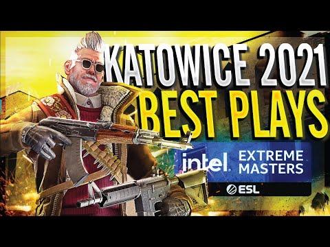 CS:GO - BEST PLAYS OF IEM KATOWICE 2021!