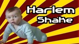 Cậu bé nhảy theo điệu The Harlem Shake cực kỳ hài hước