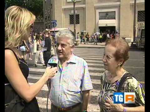 PRO LOCO ROMA - INFIORATA - PRIMA EDIZIONE - 29 Giugno 2011 (видео)