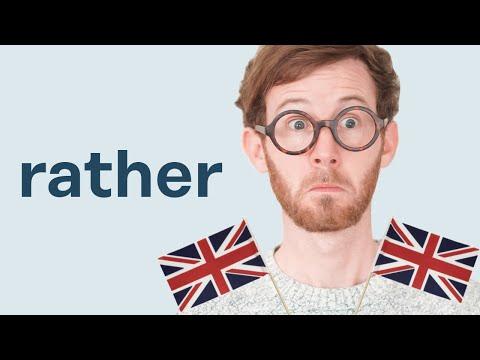 ¿Sabes cómo usar RATHER en inglés?💂♀️🇬🇧
