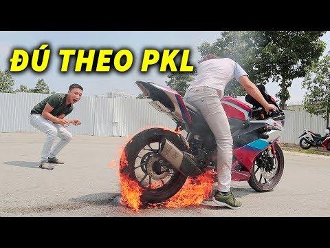 Đú Theo PKL thử Drift R15v3 Và Cái Kết - Thời lượng: 15 phút.