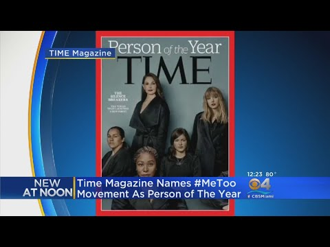 'The Silence Breakers' Are Time's Person of the Year