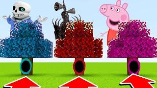 DO NOT CHOOSE THE WRONG TREE PORTAL! (Sans,Sirenhead,Peppa)(Ps3/Xbox360/PS4/XboxOne/PE/MCPE)