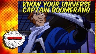 Video Digger Harkness (Captain Boomerang) - Know Your Universe MP3, 3GP, MP4, WEBM, AVI, FLV Mei 2018