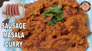 "SAUSAGE MASALA CURRY Recipe  Hot & Spicy Curry Recipe  Follow the Steps.Watch this video to find how to make SAUSAGE MASALA CURRY recipe at home, easy to understand step wise tutorial.Welcome to ""Learn to Cook with me CHANNEL""Please Like , Share & SUBSCRIBE our Channel for New Recipes Videos:Don´t forget... If you like this recipe... Leave a comment or Thumbs up ;) Thank you.INGREDIENTS: You Will Need----------------------------------------------1. Sausage - 5 pcs.2. Onion (Chopped) - 2 med. size3. Tomato (Chopped) - 2 med. size4. Garlic- 3-4 pcs. Ginger- 1 inch5. Cashew Nuts - 7-8 pcs.6. Chilli Powder - 1tsp7. Coriander Powder - 1tsp8. Salt to taste 9. Spice Mixture (Garam Masala) - 1tsp10. Turmeric Powder - 1/2 tsp11. Oil - to fry12. Cumin Seeds - 1/2 tsp13. Green Coriander LeavesVideo link of this Recipe : https://youtu.be/rSlC0JKktq4Thanks for Watching. Have Fun__________________________________________________________________Subscribe & Stay Tuned: https://www.youtube.com/channel/UCzoP8ZzP6QbDpVVweZ_I3HA?sub_confirmation=1__________________________________________________________________Visit Our Channel ""Learn to cook with me"":For Facebook Updates: https://www.facebook.com/Learn-To-Cook-With-Me-181829918948258/"