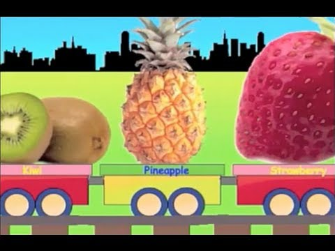 learn fruit names - Kids train. Train for kids. Learning train fruits. Fruit train with fruits. Watch yummy fruit train. Fruits coming in train. Learning fruits names like a rhy...