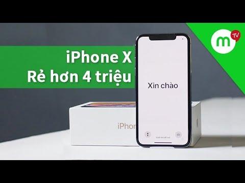 [SỐC] iPhone X Mới 100% chính hãng rẻ hơn cả iPhone XR, mã VN/A, bảo hành FPT - Thời lượng: 5 phút, 55 giây.