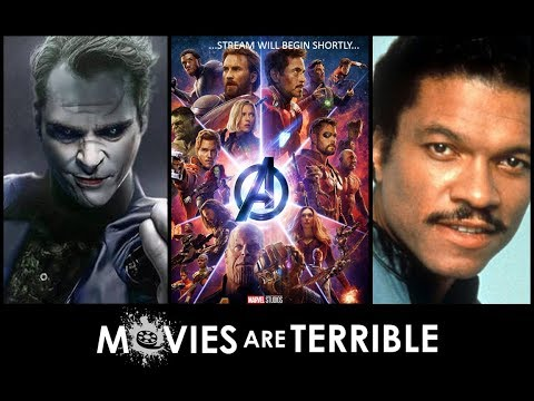 BILLY DEE, TWO JOKERS, AND SOME MARVEL MOVIES