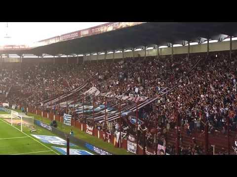 Festejo de la hinchada en el 2º gol de Lanús/ Lanús 4 - Banfield 2 (Fecha 18) - La Barra 14 - Lanús