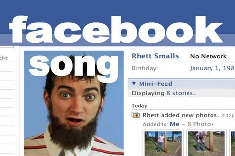 Facebook Song – Rhett & Link