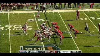 Justin Pugh vs Rutgers (2012)
