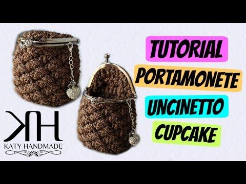 """uncinetto - portamonete """"cupcake"""""""