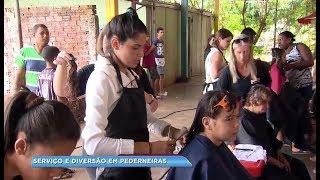 Dia de cuidado com a saúde e a beleza em Pederneiras