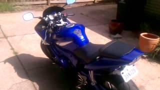 8. My first bike 2002 yamaha r6