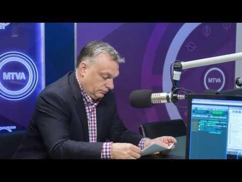 Orbán Viktor miniszterelnök pénteken a Kossuth Rádió 180 perc című műsorában.