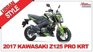 4. 2017 Kawasaki Z125 Pro KRT Specs