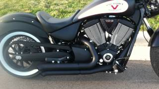 3. 2012 Victory High Ball with Bassani Exhaust