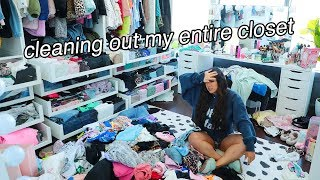 CLEANING OUT MY ENTIRE CLOSET (plz send help) by MissRemiAshten