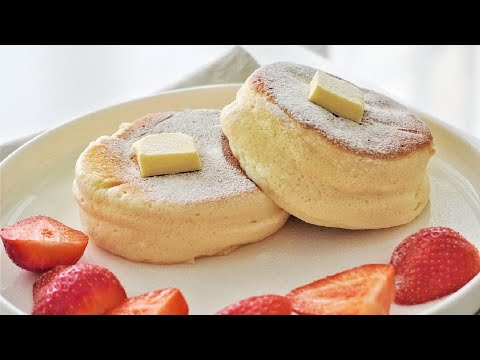 Souffle Pancake With One Egg