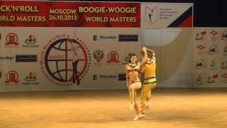 Erste Runde Fußtechnik Teil 3  - World Masters Moskau 2013