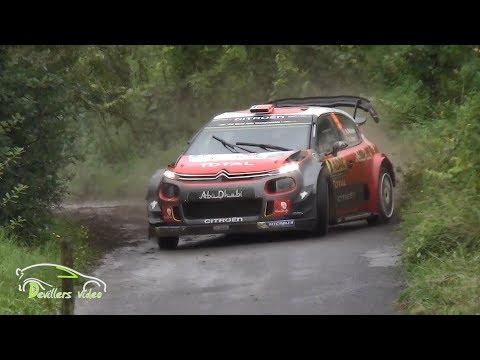 WRC ADAC Rallye Deutschland 2017 [HD] Devillersvideo